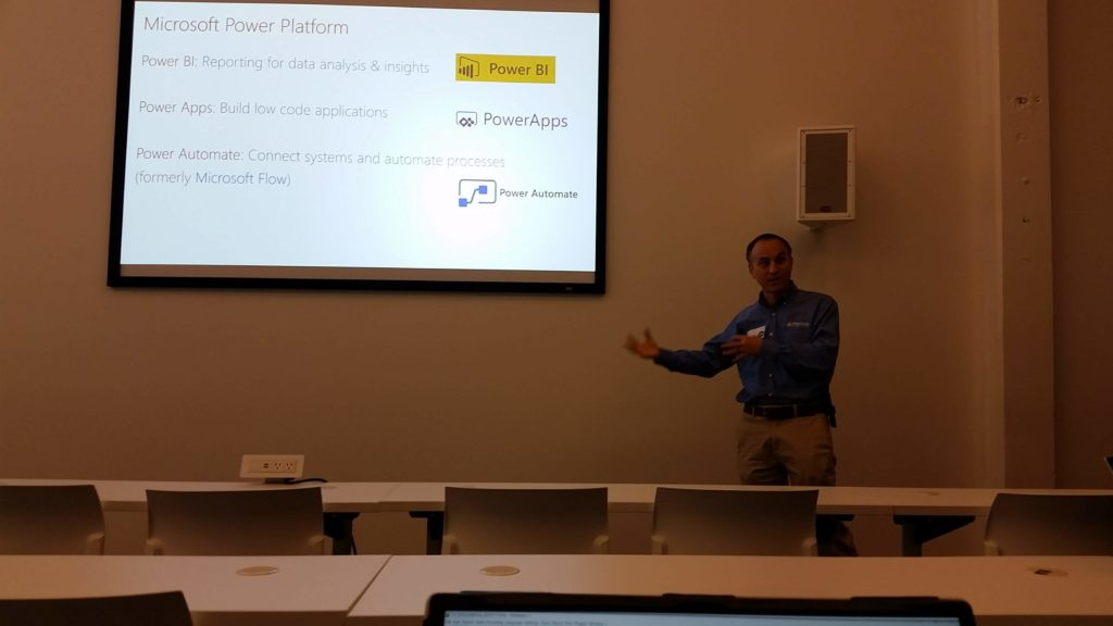 Dan Edwards of Crowe LLC at LAPUG