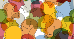 Seamless pattern of a crowd of many different people profile heads | The Many Faces of Infor Manufacturing ERP Software