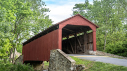 Beautiful Pool Forge Covered Bridge, Lancaster County, Pennsylvania